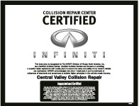 Infiniti Recognized Collision Repair Center